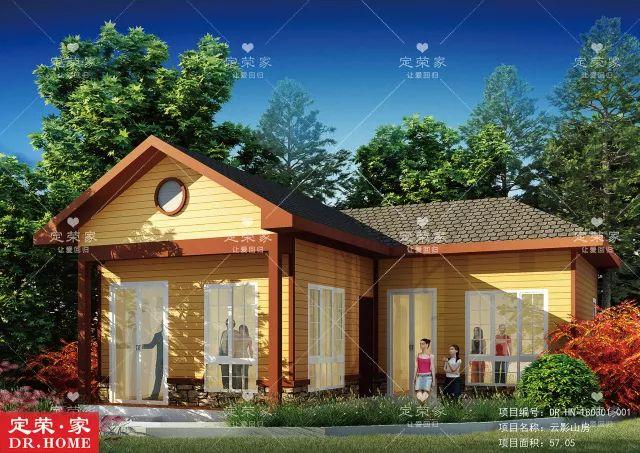 6款二层别墅v二层,一层农村都有,哪一款最得你心?轻钢别墅图二层图片